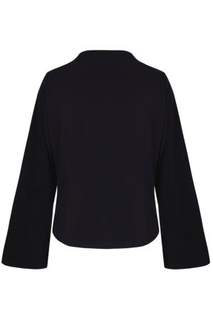 "Top ""Flores Nocturnas""  with sleeves"